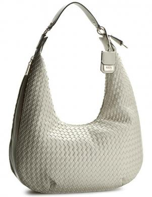 GUESS baltas/ziloņkaula krāsas sieviešu soma