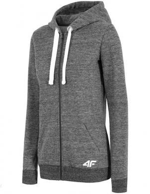 Pelēks sieviešu džemperis 4F
