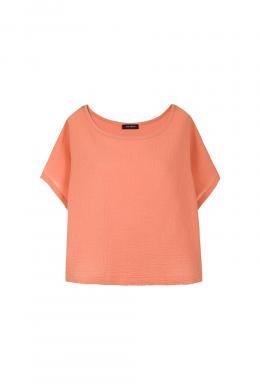 COP. COPINE persiku krāsas sieviešu blūze