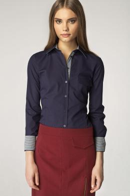 NIFE zils sieviešu krekls
