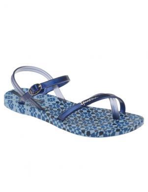IPANEMA sieviešu zilas pludmales sandales pār pirkstu