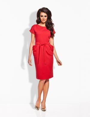 LEMONIADE sarkanas krāsas kleita