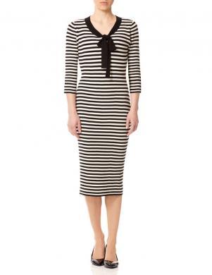 FEVER LONDON sieviešu melna/krēmīga kleita Lacanau