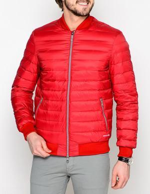 GEOX stilīga vīriešu dūnu sarkanas krāsas jaka