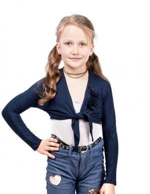 SILVIAN HEACH KIDS tumši zilas krāsas bērnu bolero
