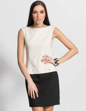 MIA F melna/ balta sieviešu kleita