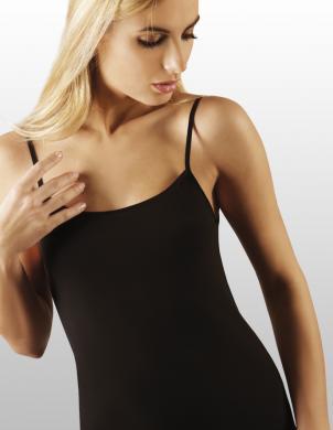 EMILI sieviešu melnas krāsas blūze ar lencēm