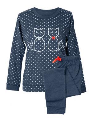 MUZZY zila sieviešu pidžama