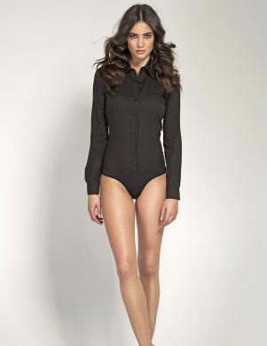 COLETT melns sieviešu krekls