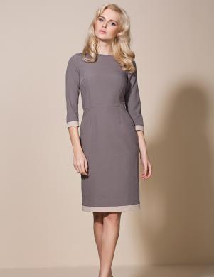 COLETT brūna sieviešu kleita