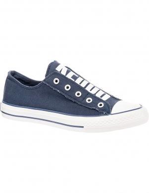 Sieviešu zili apavi ar baltu zoli KEDDO