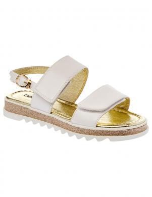 Bērnu baltas zempapēža sandales BETSY