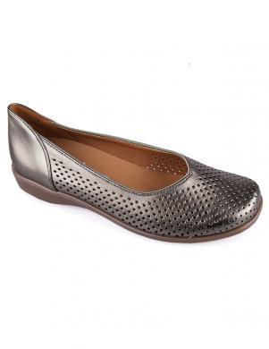 Sieviešu brūni perforēti apavi ARA