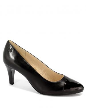Sieviešu melni klasiski augstpapēžu apavi CAPRICE