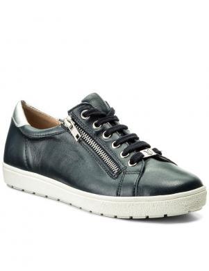 Sieviešu tumši zilas krāsas gludas ādas brīva laika apavi CAPRICE