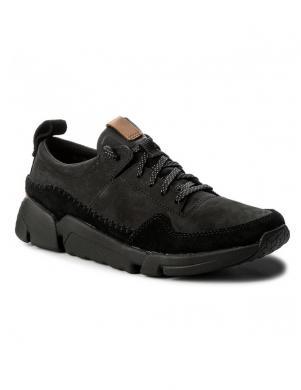 Vīriešu melni apavi ar mežģīnēm TRIACTIVE RUN CLARKS