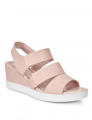 Sieviešu rozā sandales Plateau ECCO