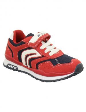 Bērnu sarkani šņorējami brīva laika apavi J PAVEL GEOX