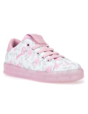 Bērnu puķaini apavi ar rozā zoli J KOMMODOR GIRL GEOX