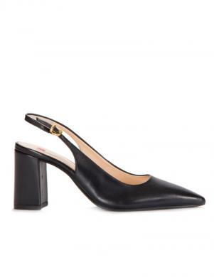 Sieviešu melnas slēgtas augstpapēžu sandales HOGL