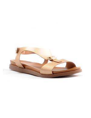 Sieviešu zelta krāsas sandales STELLA