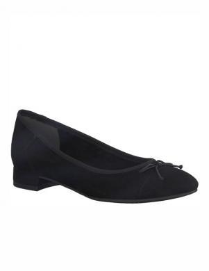 Sieviešu melni balerīnas apavi TAMARIS