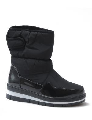 STELLA sieviešu melni sniega apavi ar siltinājumu