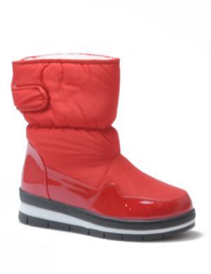STELLA sieviešu sarkani sniega apavi ar siltinājumu