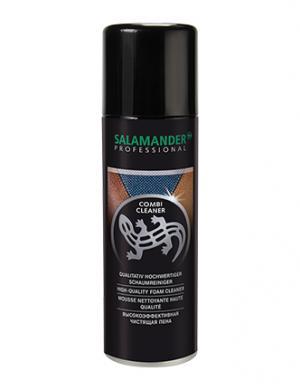 SALAMANDER PROFESSIONAL Combi Cleaner tīrīšanas putas visu veidu ādai un tekstilam 200ml