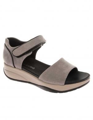 GRUNBERG sieviešu pelēkas sandales