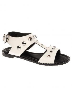 BETSY sieviešu baltas sandales