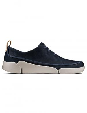 CLARKS sieviešu zili ādas apavi