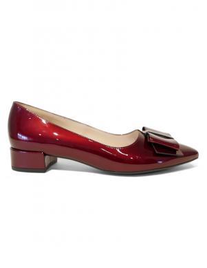 PETER KAISER sieviešu lakotas ādas tumši sarkani apavi