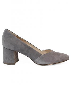 PETER KAISER sieviešu pelēki ādas augstpapēžu apavi