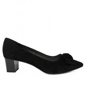 PETER KAISER sieviešu melni ādas zempapēžu apavi
