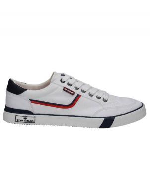 TOM TAILOR vīriešu balti brīva laika apavi