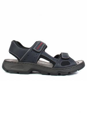 RIEKER vīriešu tumši zilas sandales