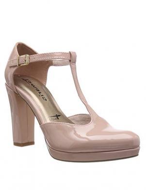 TAMARIS sieviešu rozā lakoti augstpapēžu apavi LYCORIS