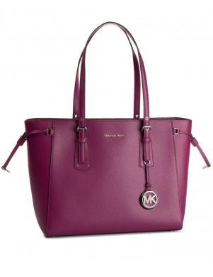 MICHAEL KORS violeta sieviešu ādas soma