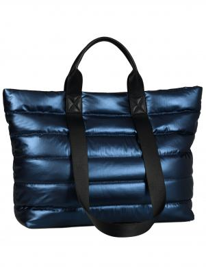 GABOR sieviešu zila spīdīga soma
