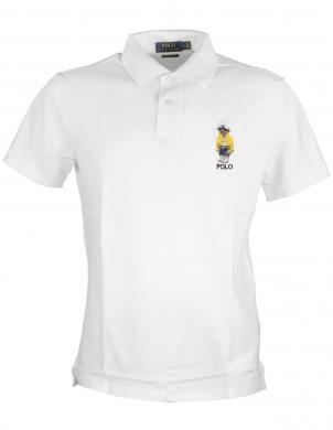 POLO RALPH LAUREN vīriešu balts polo tipa krekls