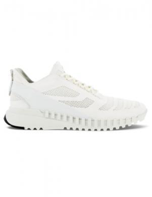 ECCO vīriešu balti ikdienas apavi ZIPFLEX M