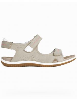 GEOX sieviešu smilšu krāsas sandales SANDAL VEGA