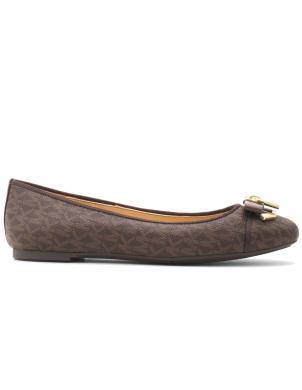 MICHAEL KORS sieviešu brūni balerīnas apavi ALICE BALLET
