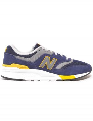 NEW BALANCE vīriešu zili-dzelteni ikdienas apavi