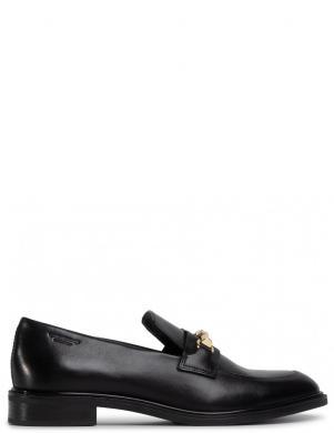 VAGABOND sieviešu melni ādas klasiski apavi FRANCES