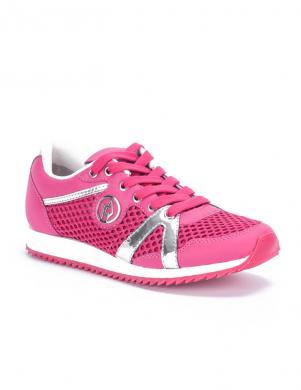 ARMANI JEANS sieviešu spilgti rozā sportiski apavi