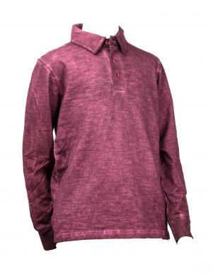 SILVIAN HEACH KIDS tumši sarkanas krāsas kokvilnas krekls