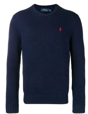 POLO RALPH LAUREN zils vīriešu džemperis