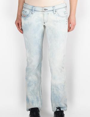 DIESEL sieviešu gaiši zili džinsi ar kniedēm LOWKY